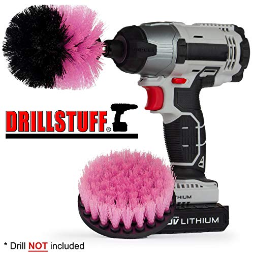 Cleaning Supplies - Drill Brush - Grout Cleaner - Shower Cle