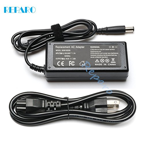 Reparo 18.5V 3.5A 65w Ac Laptop Adapter Charger for HP 2000-2A20NR 2000-2B09WM 2000- 2B19WM 2000-2B29WM 2000-2C29WM 2000-2D19WM 2000-329WM 693711-001 677774-001 Power Supply Cord