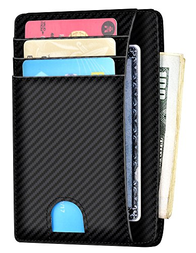 Slim Wallet RFID Front Pocket Wallet Minimalist Secure