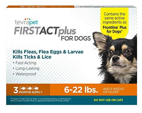 TevraPet FirstAct Plus Flea & Tick Prevention for Dogs