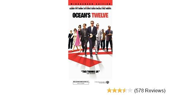 Amazon.com: Oceans Twelve [VHS]: George Clooney, Brad Pitt, Julia Roberts, Catherine Zeta-Jones, Ed Kross, Don Tiffany, Anne Jacques, David Sontag, ...