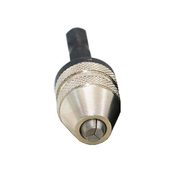 Adaptateur de tournevis pour mandrin de mandrin de perceuse sans clé 0,3-6,5mm