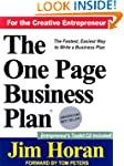 The One Page Business Plan: Start wit...