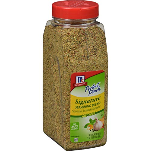 McCormick Perfect Pinch Signature Salt-Free Seasoning, 21 oz