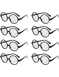 Great Party Wizard Glasses (8 Pack), Black