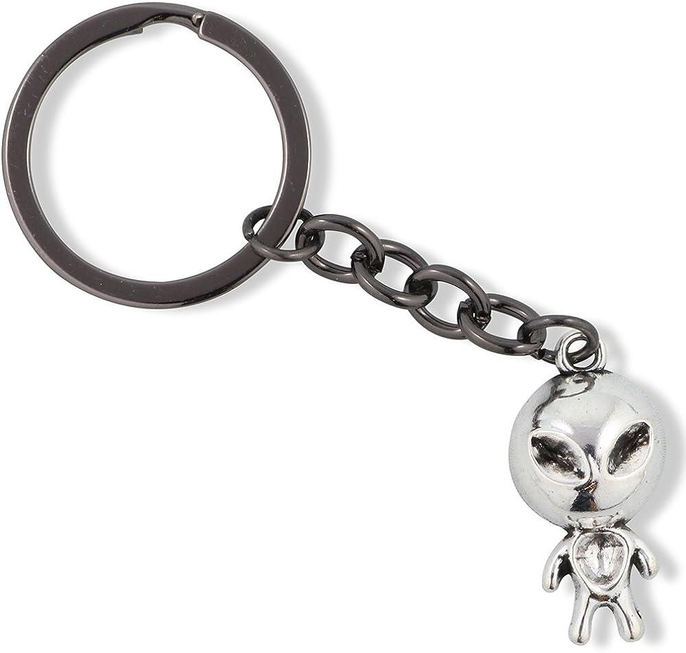 Alien Jewelry Alien Keychain Gifts for Women Men Girls Boys Kids UFO Jewellery Accessories Decor Accessories Ancient Charms Spaceship