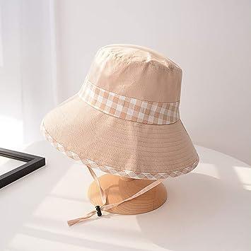 ACHICOO - Sombrero de Pescador para Mujer con ala Plana, Plegable ...