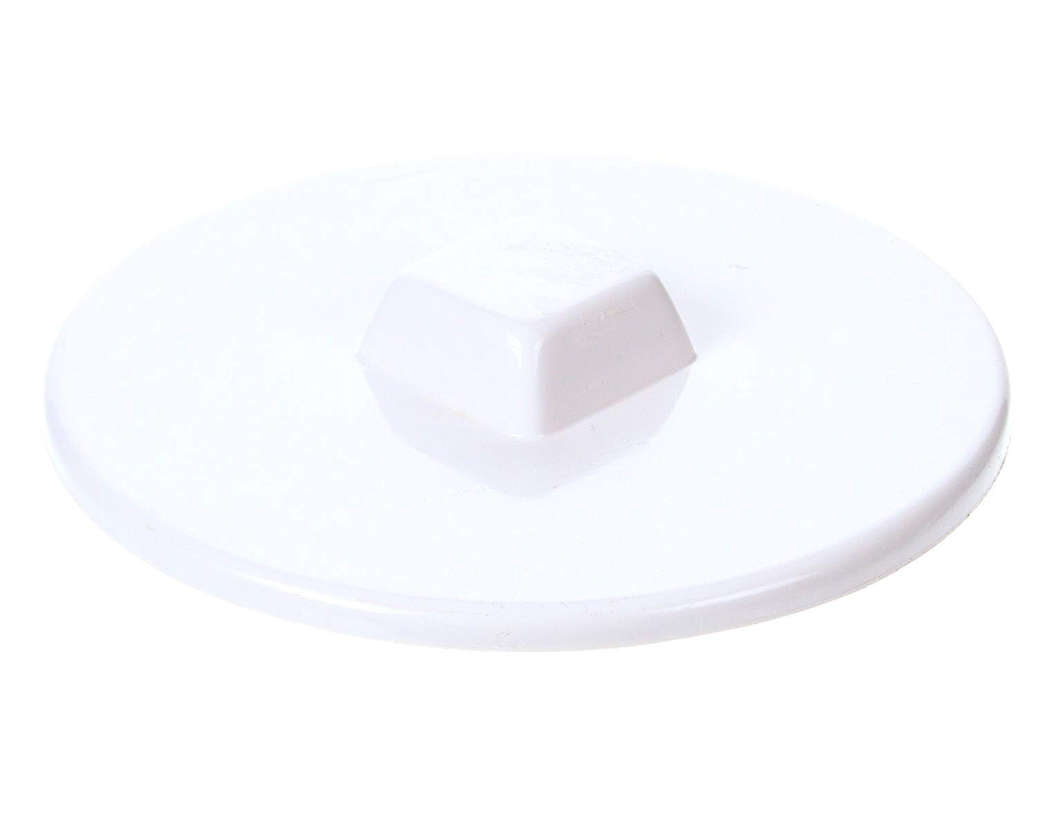 Master-Bilt 44-01084 White Ice Cream Can Cover - Fits Most 3 Gallon Commerical Ice Cream Tubs - 10.25'' Diameter (4)