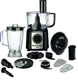 Bajaj FX9 700-Watt Mini Food Processor (Black/Silver)