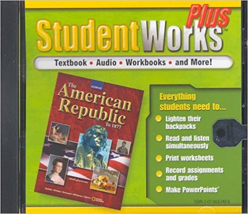 Counting Number worksheets free us history worksheets : The American Republic to 1877, StudentWorks Plus CD-ROM (U.S. ...