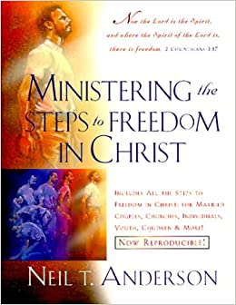 Book Ministering the Steps to Freedom in Christ