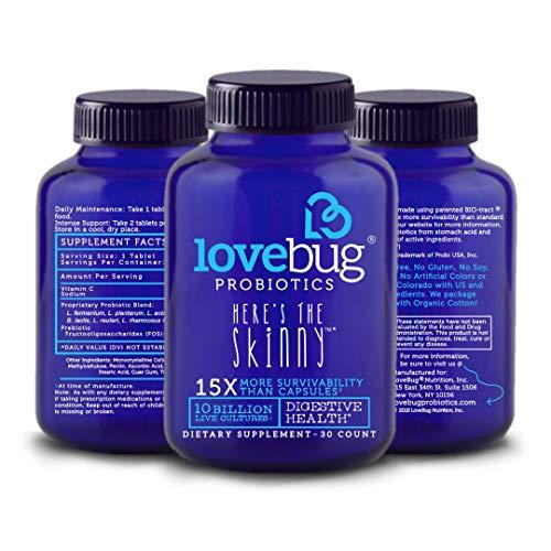 LoveBug Probiotics - Here's The Skinny - Digestive Health