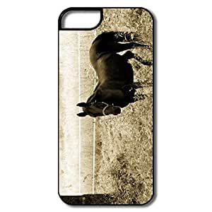 IPhone 5S Cases, Black Horse Cases For IPhone 5 Thin Fit