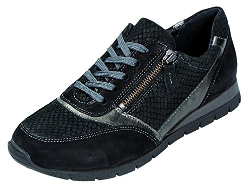 DocComfort Slipper D.Sneaker schwarz Weite G