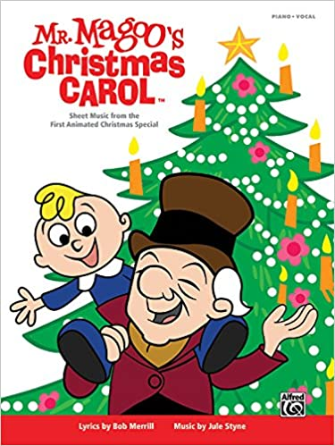 Mister Magoos Christmas Carol Sheet Music From The First Animated Special Piano Vocal Bob Merrill Jule Styne 0038081409917 Amazon
