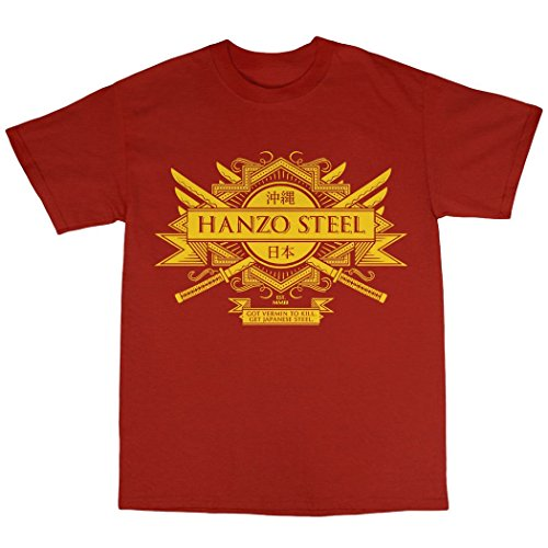 Hanzo Steel T Shirt 100 Cotton product image