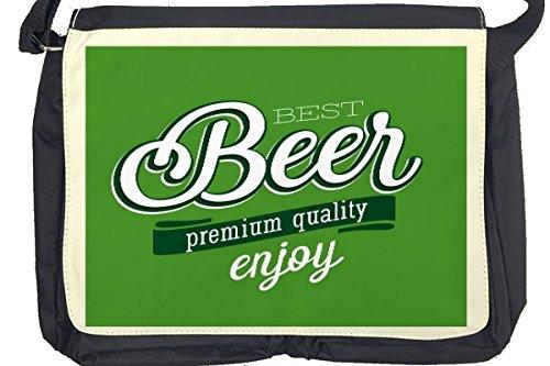 Borsa Tracolla Birra Bar Pub Migliore birra Stampato