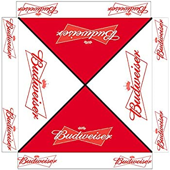 Budweiser 9 Foot BEER PATIO UMBRELLA MARKET STYLE NEW Bud