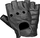 Shaf Fingerless Gloves (Black, Small)