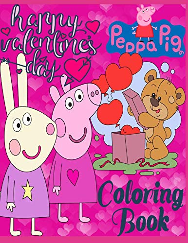 Peppa Pig, Happy Valentines Day!: Coloring book