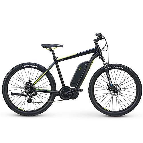 Izip Electric Bikes - IZIP 2019 E3 Edge Step Over Electric Bike MD Black