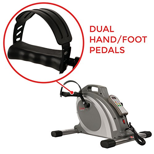 Sunny Health & Fitness Mini Cycle with 90 RPMs for Leg and arm Exercises with Motorized and Manual Option - SF-B0717 by Sunny Health & Fitness (Image #3)