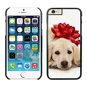 Diy Design Christmas Dog Of Decorate Flower Iphone 6 Cover Case For Iphone 6 4.7 Inch