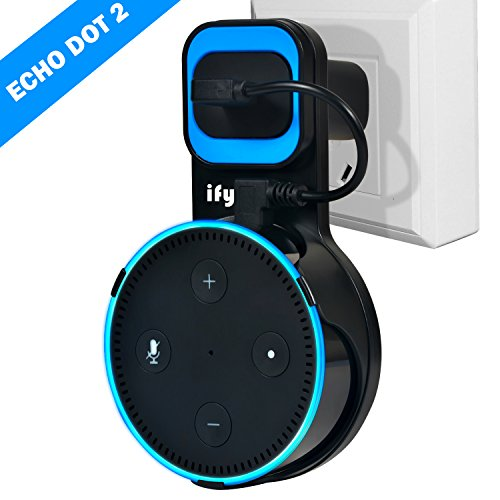 Amazon alexa Wall Mount Hanger Stand Compatible with Amazon