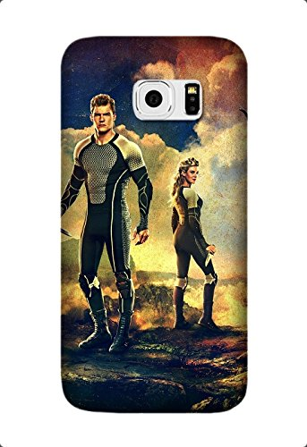 The Hunger Games: Catching Fire Movie Hard Back Case Cover Skin For Samsung Galaxy S6 Edge Plus/S6 Edge+ Design By [Andrea Blake]