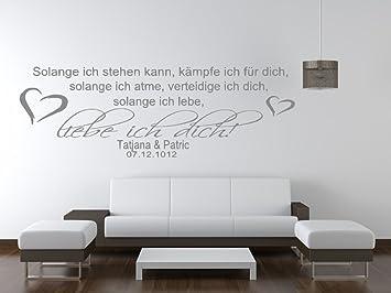 tjapalo s-pk31 Wandtattoo Wohnzimmer Wandtattoo Schlafzimmer Spruch ...