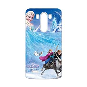 Frozen Princess Elsa Anna Kristoff Olaf Sven Cell Phone Case for LG G3