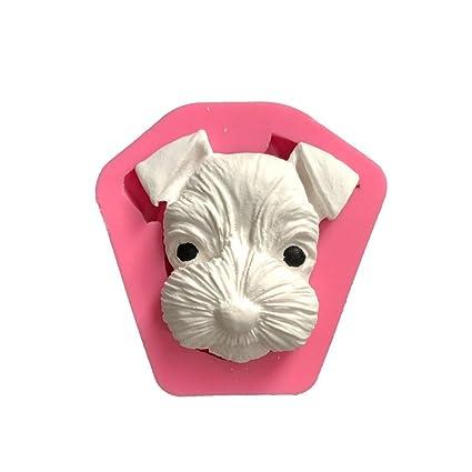 Homeofying - Molde de Silicona para Aroma de Coche con Forma de Perro Hecho a Mano