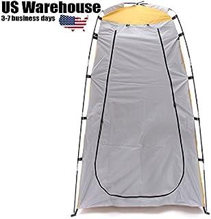 VDK Portable Pop Up extérieur de confidentialité Tente Parasol vestiaire de Chambre de Toilette Shelter Camping Voyage d'urgence Canopy [US entrepôt] 750694