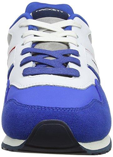 Uomo Bright Team Runner Blue Hackett Blu PRO Sneaker London q0xEW1PX