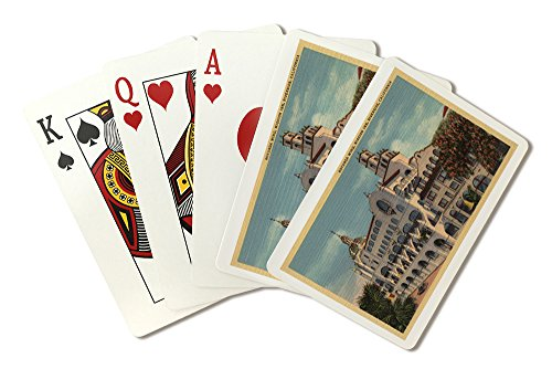 View of the Rotunda Wing at the Mission Inn (Playing Card Deck - 52 Card Poker Size with Jokers) ()