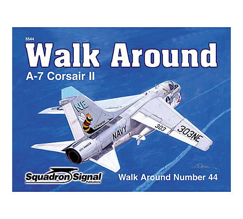 Used, A-7 Corsair II - Walk Around No. 44 for sale  Delivered anywhere in USA