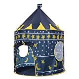 Docooler Portable Kids Play Tent Prince Princess Castle Playhouse Indoor Outdoor Toy Tent