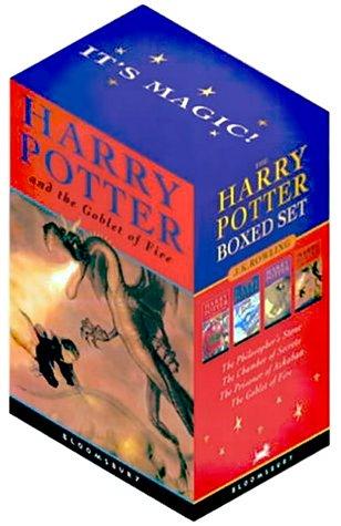 Harry Potter Paperback Box Set: Four Volumes