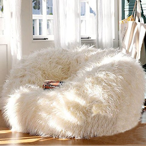 FidgetGear Bean Bag Lounger for Home Living Room Soft Cozy Sofa Chair Seat Furniture from FidgetGear