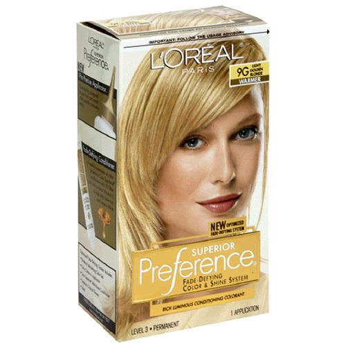 Conditioning Colorant - Superior Preference Rich Luminous Conditioning Colorant, Level 3 Permanent, Light Golden Blonde/Warmer 9G (Pack of 3)