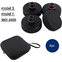 topfit Tesla Model 3 modell Y Jack Point Pad Pucks Jack Lift Pad adapter verktyg för att skydda batteri chassifärg