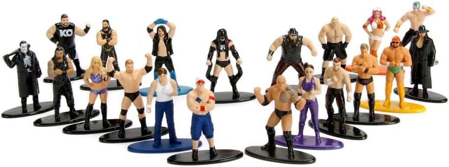 Jada GIOCATTOLI Nano metalfigs WWE METAL DIE CAST Figure-Scegli la tua propria