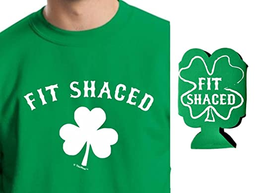 st patricks day shirt st day fit shaced shamrock tshirt small green