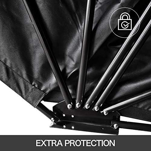 Frantools Housse Moto Exterieur TailleL Protection UV Couverture /étanche pour Moto