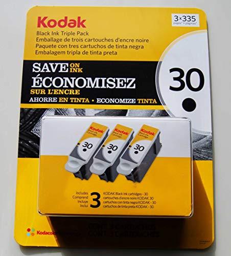 Kodak Series - Kodak 30 Series Black Ink Cartridge - 3 Pack