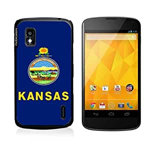 Flag of Kansas Google Nexus 4 Case - For Nexus 4