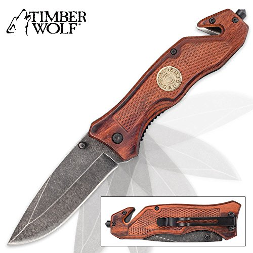 Timber Wolf 12 Gauge Shell Assisted Opening Pocket Knife