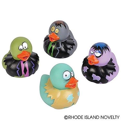 Rhode Island Novelty HALLOWEEN COSTUME DUCKS 1 Dozen 2 inch Rubber Ducks
