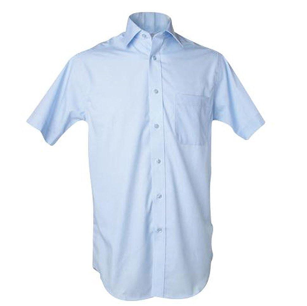 KUSTOM KIT Premium Non Iron Corporate Shirt Short Sleeved