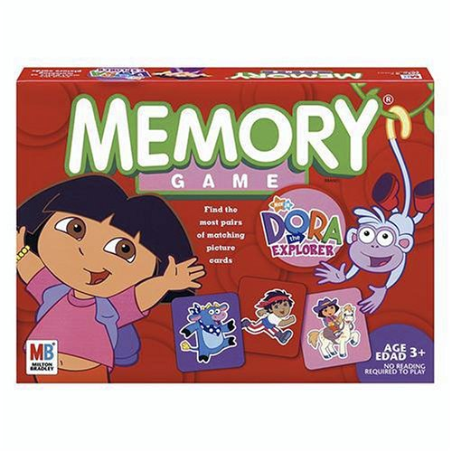 Board Explorer Dora The Game (Memory Game - Dora the Explorer Edition)
